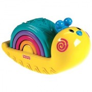 Fisher Price-Rainbow Snail Stacker