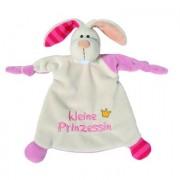 NICI My First NICI Knuffeldoek Haas kleine Prinzessin 25 x 25 cm