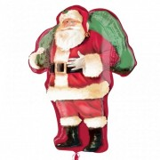 Balon Folie Figurina Mos Craciun - 86 cm, Amscan 25143