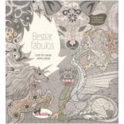 Bestiar fabulos - Carte de colorat pentru adulti