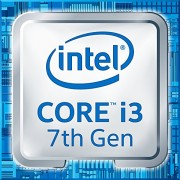 Intel Core i3 - 7300 4.00 GHz CPU - nero