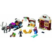 Set Constructie Lego Disney Princess Anna Si Kristoff Si Aventura Lor Cu Sania