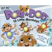 Poke-A-Dot! 10 Little Monkeys by Lucy Schultz