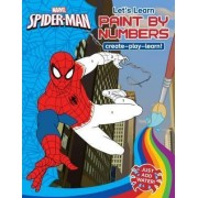 Marvel Learning Spider-man - Let's Learn PaintNumbers