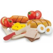 Bucatarie copii New Classic Toys Cutting Meal - Breakfast