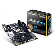 Gigabyte GA-B85M-D3V-A Intel 4th Generation Ultra Durable Motherboard | LGA 1150 | USB 3.0 | Micro ATX