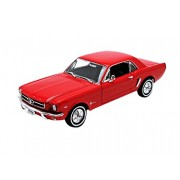Welly - 22451r - Ford - Mustang - Coupe 64 1/2 - 1/24 Scala