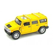 2008 Hummer H2 SUV 1/40 Yellow