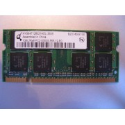 Qimonda HYS64T128021HDL-3S-B - Mémoire - 1 Go - DDR2 SDRAM - SO DIMM 200 broches - PC2 4200