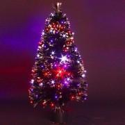 Eminza Albero di Natale a fibre ottiche Barnaby altezza 110 cm