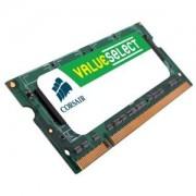 Memorie Corsair SO-DIMM ValueSelect 2GB DDR3, 1066MHz, PC3 - 8500, CL 7-7-7-20, CM3X2GSD1066