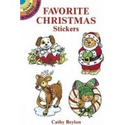 Favourite Christmas Stickers by Cathy Beylon