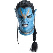 Vegaoo Komplette Avatar-Maske für Erwachsene