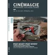 Cinema&Cie. International Film Studies Journal Spring/Fall 2016: Volume 16, No. 26/27 by Vinzenz Hediger