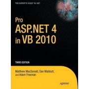 Pro ASP.NET 4 in VB 2010 by Matthew MacDonald