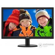"""Monitor Philips 243V5QHSBA/00 LED 24"""" LED, negru"""