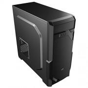 Aerocool VS-1 Midi Tower Case - Black Midi-Tower Nero