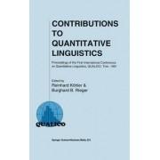 Contributions to Quantitative Linguistics by Reinhard K