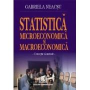 Statistică microeconomică şi macroeconomică.