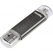 "Hama USB 2.0 OTG Speicherstick FlashPen ""Laeta Twin"", 32 GB"
