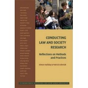 Conducting Law and Society Research by Simon Halliday