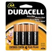 Pilha AA/4 1,5V MN1500 Duracell