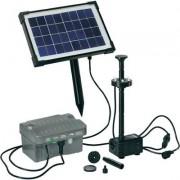 Napelemes LED-es szökőkút szivattyú rendszer, Palermo Esotec 101775 Akkubox-szal 6 V/3,2 Ah és LED f