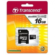 Kingston Memory Card 16GB microSDHC Memory Card with SD Adapter