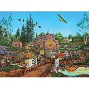 Antique Barn 1000 pc Wild Country Series Puzzle