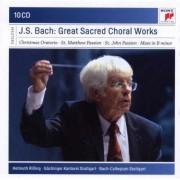 Helmuth Rilling,Bach-Collegium Stuttgart - Bach:Great Sacred Choral Woks (10CD)