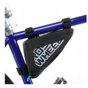 ROSWHEEL bolsa de triangulo tubo de la bicicleta - negro (500 ml )