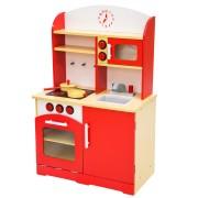 Cuisine Enfant, Cuisine Jouet, Dinette, Cuisinière rouge
