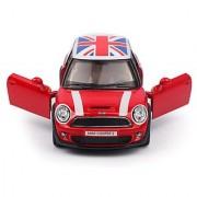 Arnavs Mini Cooper S Red