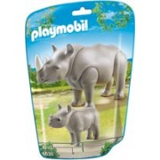 Playmobil Neushoorn met baby - 6638