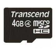 TRANSCEND TS4GUSDC4 Micro SD 4 GB, Class 4