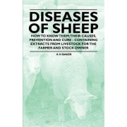 Diseases of Sheep - How to Know Them; Their Causes, Prevention and Cure - Containing Extracts from Livestock for the Farmer and Stock Owner by A H Baker