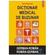 Dictionar medical de buzunar German-Roman Roman-German ed.2 - Hans Neumann