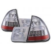 Stopuri cu LED BMW Seria 3 Touring E46 99-02 crom