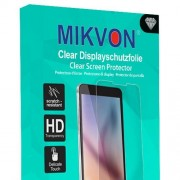 2x Mikvon Clear Films de protection d'écran pour Panasonic Lumix DMC-LX100 - transparent - Made in Germany
