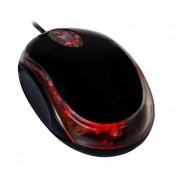 Mouse Vakoss Blupop BM200 cu fir optic USB 3D negru