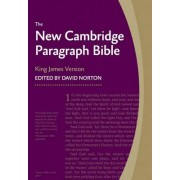New Cambridge Paragraph Bible KJ595:T Black Calfskin by David Norton