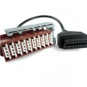 LEXIA OBD átalakító kábel 30 PIN LEXIA diagnosztika