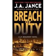 Breach of Duty by J. A. Jance