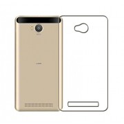 Lively Transparent Back Cover For Lava A79