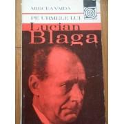 Pe Urmele Lui Lucian Blaga - Mircea Vaida