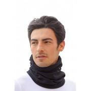 Trigema Herren Fleece Mützen-Schlauchschal Größe: 3 Material: 100 % Polyester Farbe: schwarz
