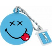 USB Flash Drive Emtec Smiley World Happy Days USB 2.0 8GB Albastru