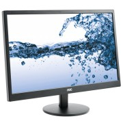 "AOC E2270SWHN 21.5"" Black Full HD Matt LED display"