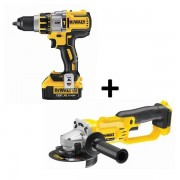 Lot Dewalt 18v : perceuse à percussion xrp 4ah li-ion brushless