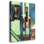 Juan Gris: Gitár (20x25 cm, Vászonkép )
